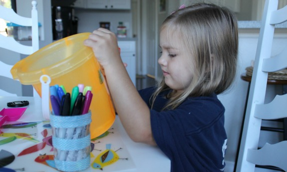 Be a Bucket Filler!  Kindness book and craft for kids!
