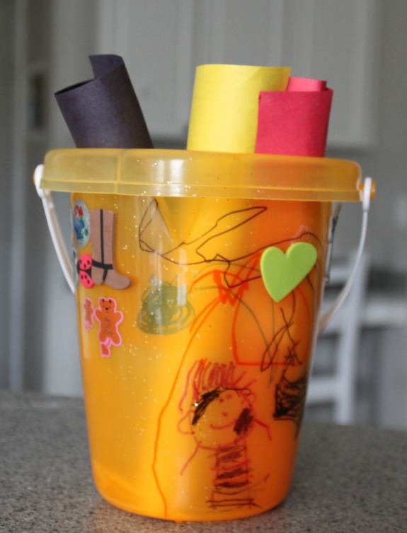 Bucket Filler Craft and Book for Kids!