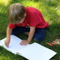 Kid Illustrated Summer Memory Books