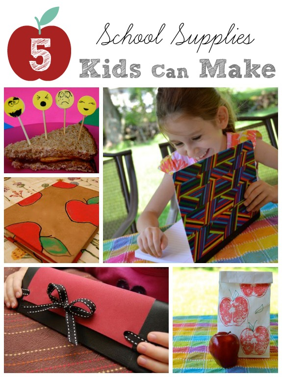 5 School Supplies Kids Can Make