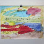 Homemade Gift: Sheet Music Art