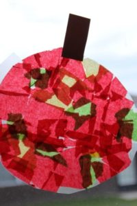 Apple Book and Kids Craft