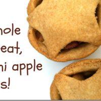 Whole Wheat Mini Apple Pies