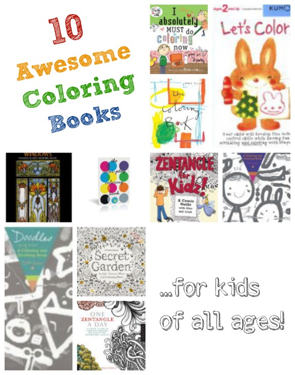 10 Awesome Coloring Books Inner Child Fun