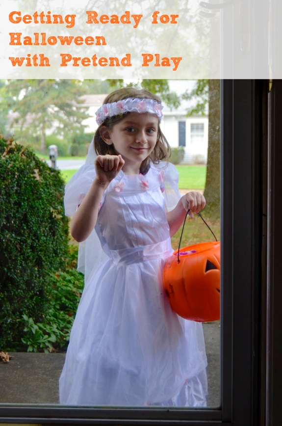 Getting Ready for Halloween with Pretend Play