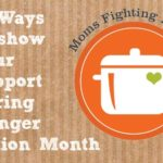 Moms Fighting Hunger — and kids too!