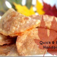 Fall Dessert Ideas: Quick & Easy Mini Handpies
