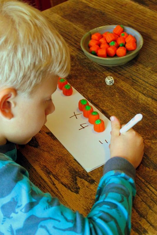 Candy Pumpkin Addition Game