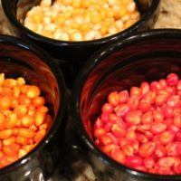 Candy Corn Crafts: Popcorn Gift Bags