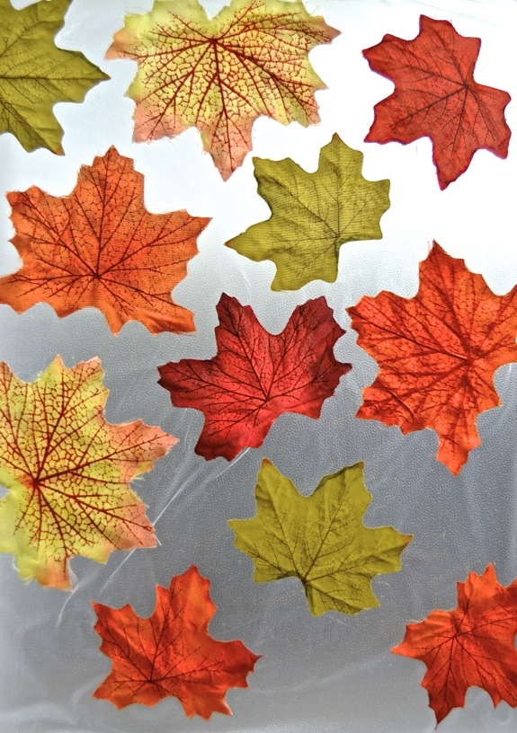 Decorate a Window for Fall