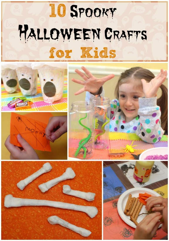 10 Spooky Halloween Crafts For Kids Inner Child Fun
