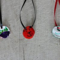 Handmade Necklace Gift Kids Can Make