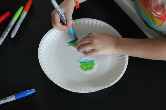 Homemade Necklace Craft for Kids