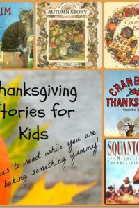 Kids' Thanksgiving Stories to Enjoy