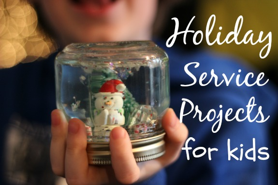 Holiday Service Project for Kids