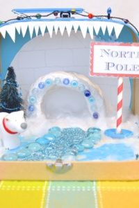 North Pole Travel Play Set