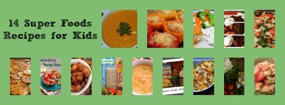 14 Super Foods Recipes for Kids - Inner Child Food