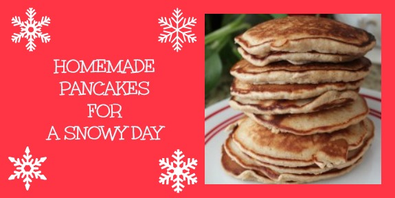 Homemade Pancakes for a Snowy Day - Inner Child Food