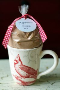 Peppermint Mocha Teacher Gift