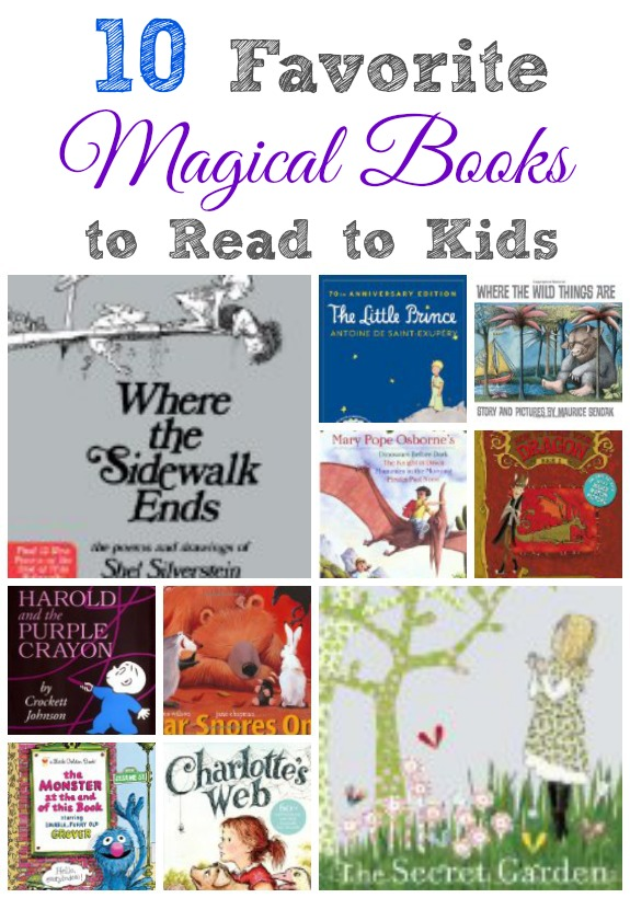 10 Favorite Magical Books to Read to Kids