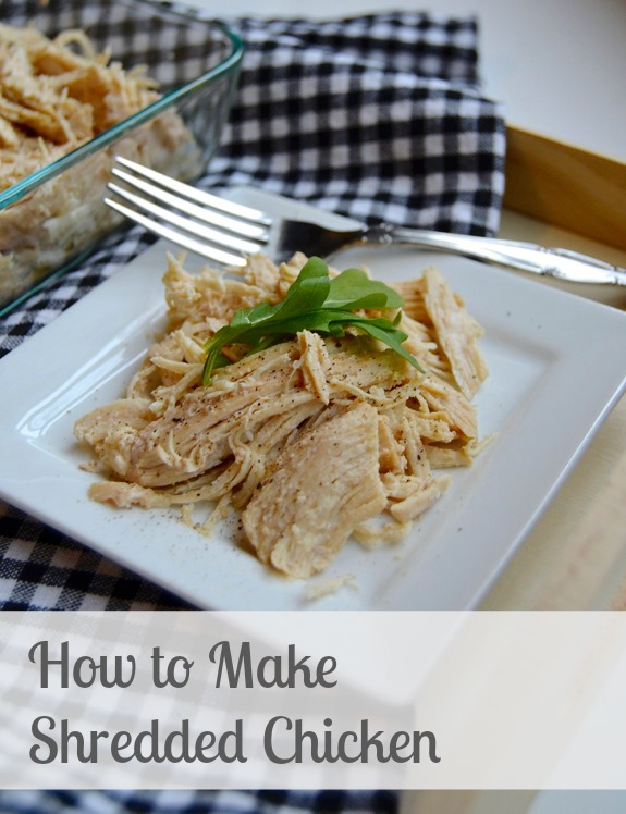How to Make Shredded Chicken