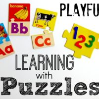 Playful Learning with Puzzles