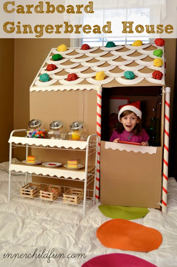 Sensational Cardboard Gingerbread House Life Size Inner Child Fun Download Free Architecture Designs Rallybritishbridgeorg