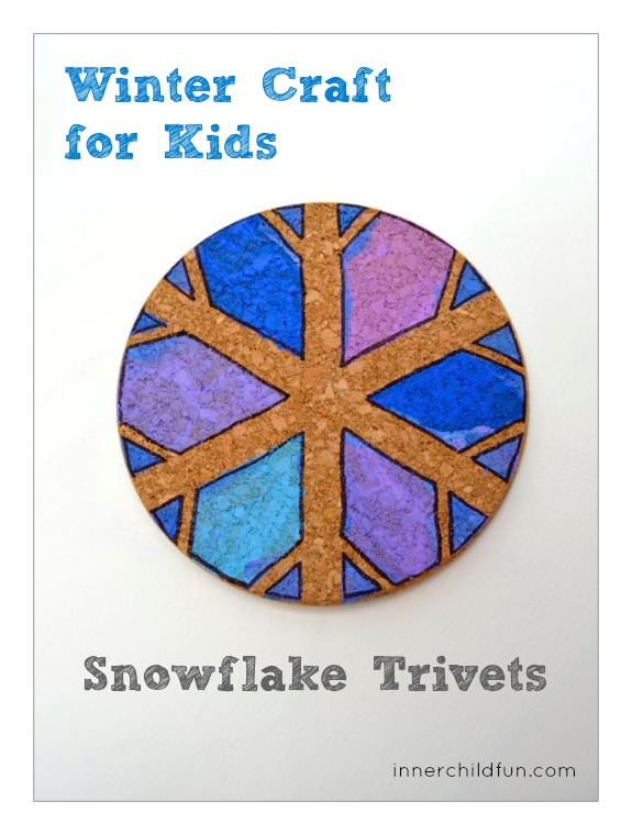 Snowflake Trivets - Inner Child Fun