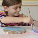 Winter Craft for Kids — Snowflake Trivets
