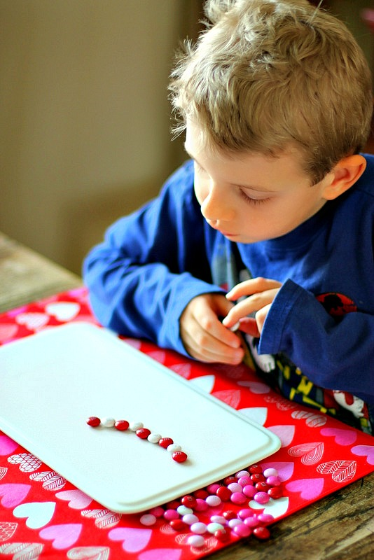 Invitation to Learn Valentine Candy Patterning