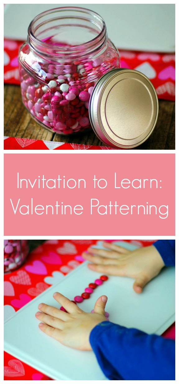 Invitation to Learn - Valentine Patterning