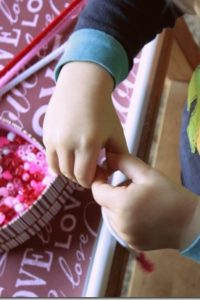 Valentine's Day Montessori Trays
