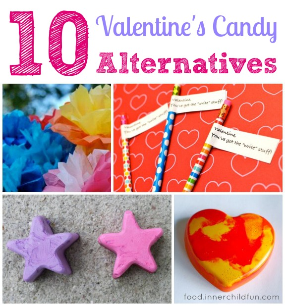 10 Alternatives to Valentine's Candy