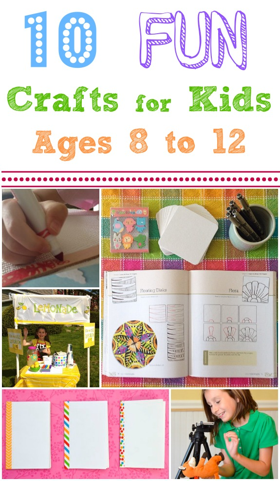 Crafts for kids ages 8 12 ye craft ideas for Fun crafts for all ages