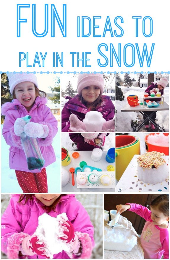 Ideas for Playing in the Snow