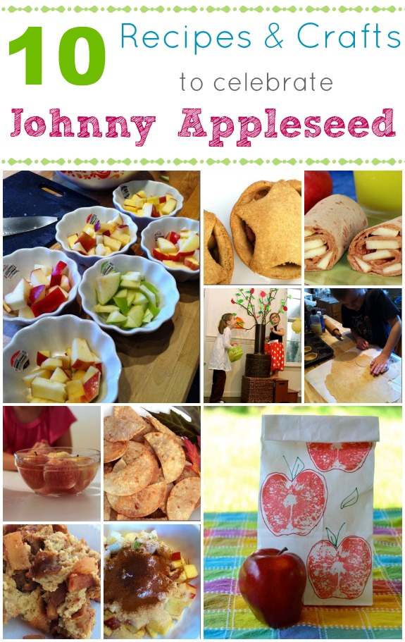 Johnny Appleseed Recipes And Crafts Inner Child Fun