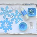 Fine Motor Craft – Winter Snowflake Ornaments