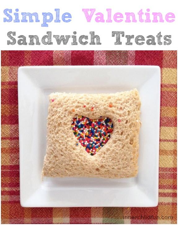 Valentine's Day Treats Sandwich