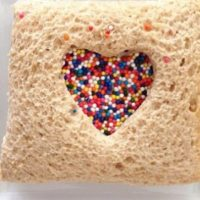 Simple Valentine's Day Sandwich Treats