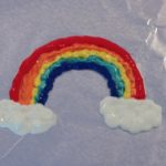 Homemade Gift: Rainbow Window Clings