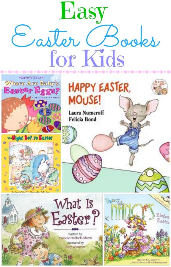 Easy Easter Books for Kids
