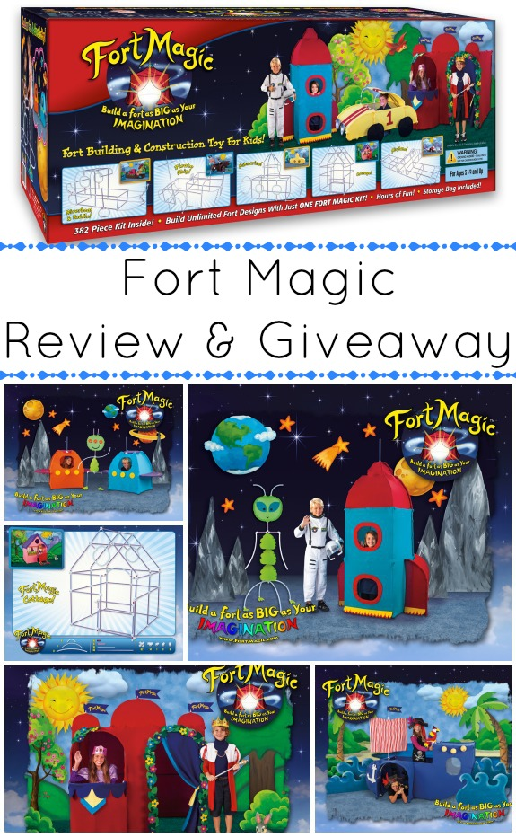 Fort Magic Review and Giveaway