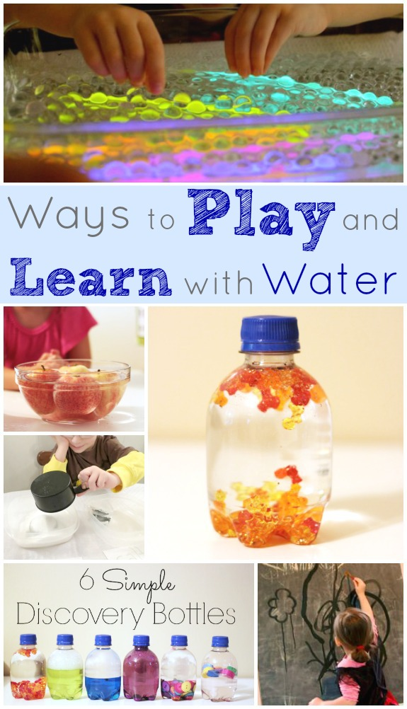 10 Ways to Play and Learn with Water Indoors!