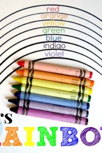 Learning in an Instant- Colors of the Rainbow