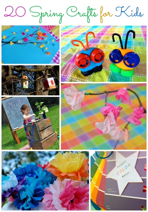 20 Ways to Play and Create During Spring Break