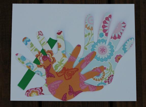 Framed Handprint Mother's Day Gift