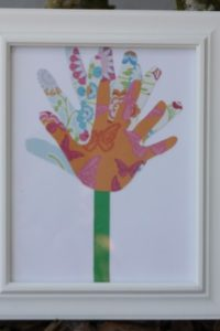 Handprint Collage Mother's Day Gift