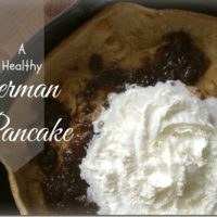 Birthday Breakfast – The Healthy German Pancake
