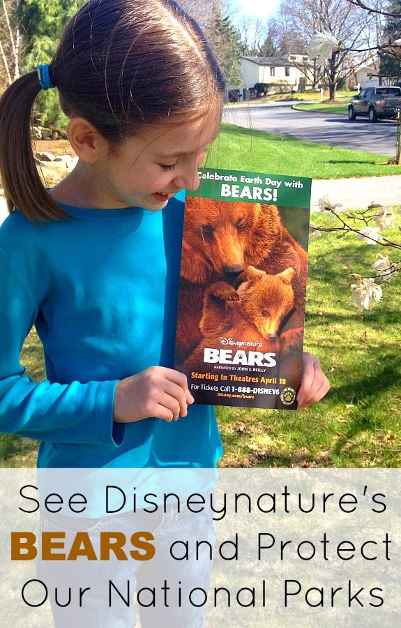 See BEARS opening week (4/18-4/24) and Disneynature will make a contribution to the National Park Foundation.