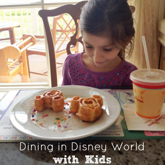 Dining in Disney World with Kids